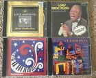 Lot of 4 Louis Armstrong/Gershwin/Larry Mitchell CDs