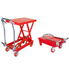 Hydraulic Table Lift Jack Cart Heavy Duty Mobile With 1000 Lb Capacity