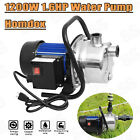 1200W Automatic Water Pump On Off Submersible Water Removal Filter Pool Cover US