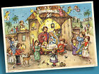 Age Advent Calendar Korsch 032 Children And Engelchen Before The Nativity 1979