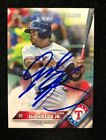 DELINO DESHIELDS JR. 2016 TOPPS RC AUTOGRAPHED SIGNED AUTO BASEBALL CARD 19 RANG