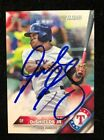 DELINO DESHIELDS JR. 2016 TOPPS ROOKIE RC AUTOGRAPHED SIGNED AUTO CARD 19