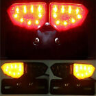 LED Motorcycle Tail Light Smoke Brake Turn Signal License Plate Lights for Honda