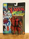MARVEL COMICS 1992 TOY BIZ PACKAGE ERROR DEADPOOL FIGURE WITH STRYFE PACKAGE