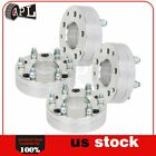 4X 5 Lugs 2 50 mm 5x5 to 6x55 14x15 wheel spacers for Jeep Grand Cherokee