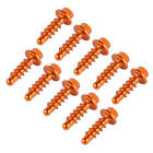10PCS Self-tapping Screws Fairing Bolts For KTM 150 XCW 17-19, 200 XCW 2006-2016