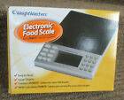 WEIGHT WATCHERS ELECTRONIC FOOD SCALE W POINT VALUES DATABASE NEW iN BOX