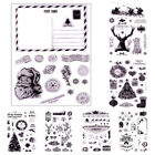 Christmas Silicone Clear Stamp For Scrapbooking Rubber Stamps Gift Card Making
