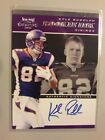 2011 Playoff Contenders Rookie Ink Autograph Auto #14 Kyle Rudolph 100* EXCH