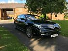 2007 Citroen C6 Luxury Saloon 27 HDI Exclusive Black with Magnolia Leather