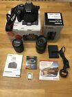Canon 750d Camera & Kit EF-S 18-55mm + EF 75-300mm Lenses