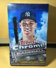 2017 Topps Chrome Baseball Hobby Box (24 Packs 4 Cards: 2 Autographs)