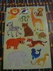 AGC jungle animals sticker sheet