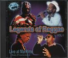 Legends of Reggae: Live at Maritime, San Francisco by Various CD