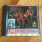 New York Dolls – Live In NYC - 1975 Red Patent Leather CD (Restless)