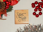 Silent Night Rubber Stamp Religious Christmas Carol 26