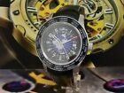 Used Fortis B-47 Worldtimer Men's Watch GMT Limited 674.20.15 L Made in Swiss