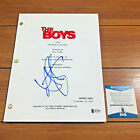 ANTONY STARR SIGNED THE BOYS FULL PAGE PILOT EPISODE SCRIPT w BECKETT BAS COA