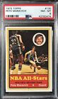 1973 Topps Basketball #130 Pete Maravich PSA 8 NM-MT Centered High End