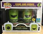 Funko Pop ERROR BOX The Simpsons Kang and Kodos 2 Pack Summer Con 2019 Sticker