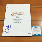 JUSTIN PAUL SIGNED THE GREATEST SHOWMAN FULL MOVIE SCRIPT w BECKETT BAS COA