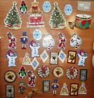 Lot of 37 Unused Vintage Christmas Paper Tags To From Tags for Gifts