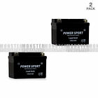 2 Pack 12V 4AH ATV SLA Battery for KAWASAKI KFX90 90CC KFX50 50CC 2007 2009
