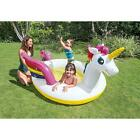 Intex Mystic Unicorn Inflatable Spray Pool Float 107 X 76 X 41 for Ages 2+