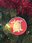 Hallmark Cameo Ornament Filling The Stockings Norman Rockwell 3rd in Series 1982