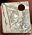 SUPER QUALITY SEYMCHAN IRON METEORITE SLICE COMPLETELY ETCHED PENDANT 16x13mm