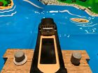 Thomas & Friends Train Wooden Railway  Bulstrode Barge, Dock, Lighthouse & Mat