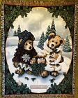 Boyds Bears Tapestry Throw Blanket Edmund & Bailey 69