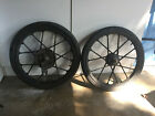 Puch Maxi Moped 17 Front and Rear Wheel Rim with brakes  mags