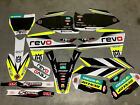 Husqvarna TE FC TC FC 125 250 350 450 Graphics Kit Neon Yellow Full kit 2016-18
