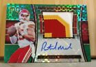 2017 Select Auto 1 1 PATRICK MAHOMES II Green Prizm RPA #5 5 ONE OF HIS BEST!MVP