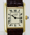 Cartier Authentic Ladies Must De Cartier watch with Red Presentation Box