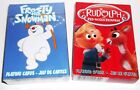 Rudolph The Red Nose Reindeer/Frosty the Snowman LOT of 2 Decks Playing Cards