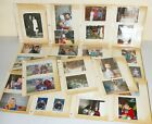 Lot PHOTOGRAPHS OLD Color BW Photos MIX Baby Pool Party Wedding Cars Family WG