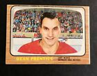 1966-67 Topps USA Test Issue, #45, Dean Prentice, Detroit Red Wings