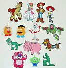Toy Story Set of 14 Character Embr Iron On Patches Size 25 4 Limited Quanty