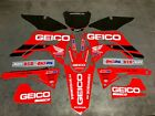 2018 2019 2020 CRF 250 R  Graphics kit Fits CRF 250R Deco Decal Sticker Geico