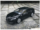Toyota Camry 2018 Metal Diecast Car Model 118 Scale Collectible Gifts Black