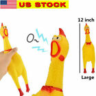 124 Pet Dog Puppy Shrilling Screaming Rubber Chicken Chewing Sound Squeeze Toy