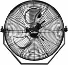 Simple Deluxe 18 Inch High Velocity 3 Speed Wall Mount Fan Use ETL Safety Listed