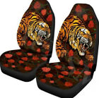 Universal Car Auto Front Seat Cover Cushion Breathable  Breathable  Animal Tiger