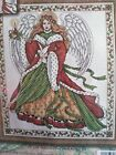 Design Works CHRISTMAS ANGEL by Joan Elliot Counted Cross Stitch Kit sealed