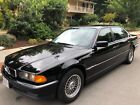1997 BMW 7 Series 740IL 74711 miles 1 OWNER BLACK BLACK SOUTHERN CALIFORNIA CORROSION FREE GARAGED LADY