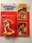 Starting Lineup John Stockton 1990 action figure Rookie Year Collector's Card