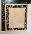 Stampin Up Swirl Frame Rubber Stamp