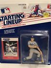 1988 Steve Sax Starting Lineup figure Card Los Angeles Dodgers toy MLB Rare LA